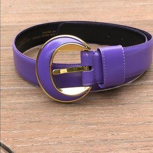 Liz Claiborne Purple Belt